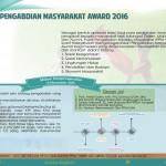 Pengadbian Masyarakat Award 2016