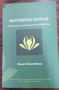 Shattariyah Silsilah in Aceh, Java and the Lanao Area of Mindanao