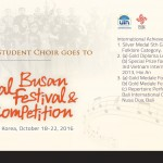 UIN Jakarta Student Choir Goes to Choral Busan Festival and Competition
