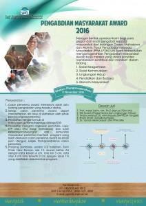 PPM UIN Jakarta Gelar Pengabdian Masyarakat Award 2016