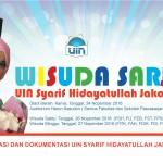 Jadwal wisuda sarjana ke 102 UIN Syarif HIdayatullah Jakarta