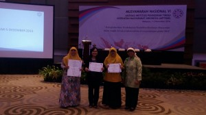 successfully achieved 11 National Award Certificates, Tuesday night, at Four Points Hotel Makassar, South Sulawesi, (11/1).