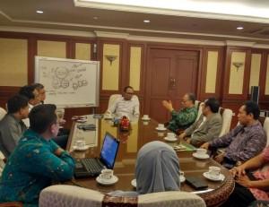 UIN Jakarta menjajaki kerjasama dengan Kementerian Tenaga Kerja RI. Audiensi dilakukan dalam rangka menyokong pendirian Pusat Karir UIN Jakarta. (14/11).