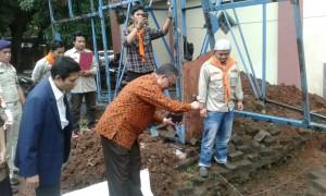 Rector Inaugurated Arkadia Wall Climbing Tower