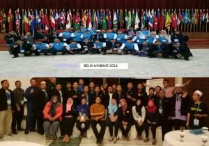 Dua orang pegawai UIN Jakarta mengikuti program training leadership Belia MABIMS 2016. Kegiatan yang diikuti oleh empat negara diantaranya Malaysia, Brunei Darussalam, Indonesia, dan Singapura (MABIMS) tersebut dilaksanakan selama lima hari, Senin-Jumat (07-11/11), bertempat di Aula Sari Ater, Subang Jawa Barat.