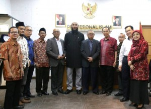 University of South Australia (UNISA) make a visit to UIN Jakarta to discuss a cooperation plan in the field of Islamic Studies, Thursday, (11/17).