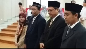 Dekan FITK Kukuhkan 4 Ketua Program Magister