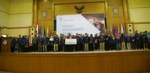 Acara Pemberian Penghargaan Promoting Moslem Student Achievements and Excellences, Rabu (7/12), bertempat di Auitorium Harun Nasution UIN Jakarta.