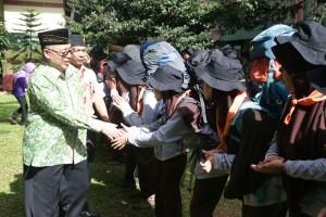 Rektor: Kegiatan Kepramukaan Positif untuk Cetak Pemimpin Bangsa