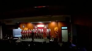 Paduan Suara Mahasiswa FKIK (PASIFIK) menyelenggarakan 2nd Mini Concert, Rabu (30/11), bertempat di Auditorium FKIK.