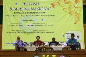 Festival Beasiswa Nasional: Berharap Penerima Beasiswa Bertambah
