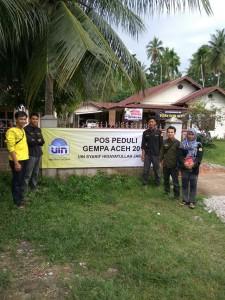 Ranita UIN Jakarta Bantu Korban Gempa Aceh