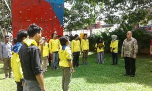 Rektor Lepas Tim Relawan Bencana ke Aceh