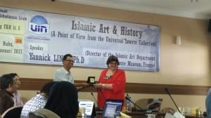 FAH UIN Jakarta Gelar SeminarSejarah Seni Islam