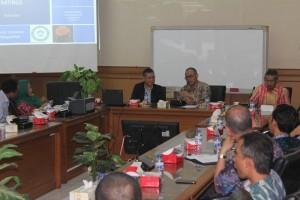 Perwakilan Quacquarelli Symonds (QS) Kunjungi UIN Jakarta