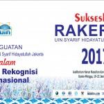 Sukseskan Rakerpim UIN Syarif Hidayatullah Jakarta 2017