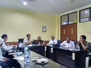 UIN Sultan Syarif Kasim (Suska) Riau melakukan kunjungan ke UIN Jakarta, Senin (23/01). Kunjungan bertujuan untuk belajar mengenai manajemen audit internal yang terkait sistem kinerja dosen dan pegawai, serta pembagian remunerasi.