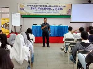 UIN Jakarta Enrollment Socialization in Avicenna high school, Depok