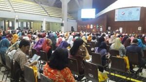 Acara sosialisasi SNMPTN dan SBMPTN 2017 yang digelar di kampus Universitas Indonesia Depok, Jawa Barat, Jumat (27/1/2017). (Foto: Dok Pubdok UIN Jakarta)