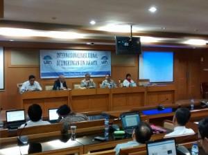 Lembaga Penelitian dan Pengabdian kepada Masyarakat (LP2M) UIN Jakarta menggelar sosialisasi bertajuk Internasionalisasi Jurnal di Liungkungan UIN Jakarta di Ruang Diorama, Senin (16/01/2017).
