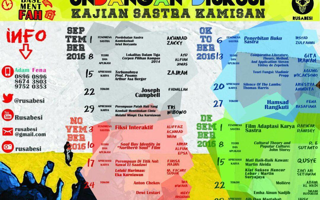 Kajian Sastra di UIN Jakarta, Makin Meredup