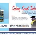 Sidang Senat Terbuka Wisuda Sarjana ke 103 UIN Syarif Hidayatullah Jakarta
