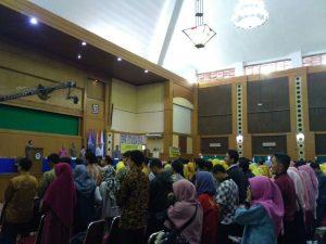 Peserta Wisuda Ke-103 Ikuti Gladi Resik