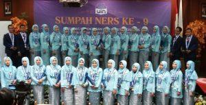 FKIK UIN Jakarta Held the 9th Nurses Oath