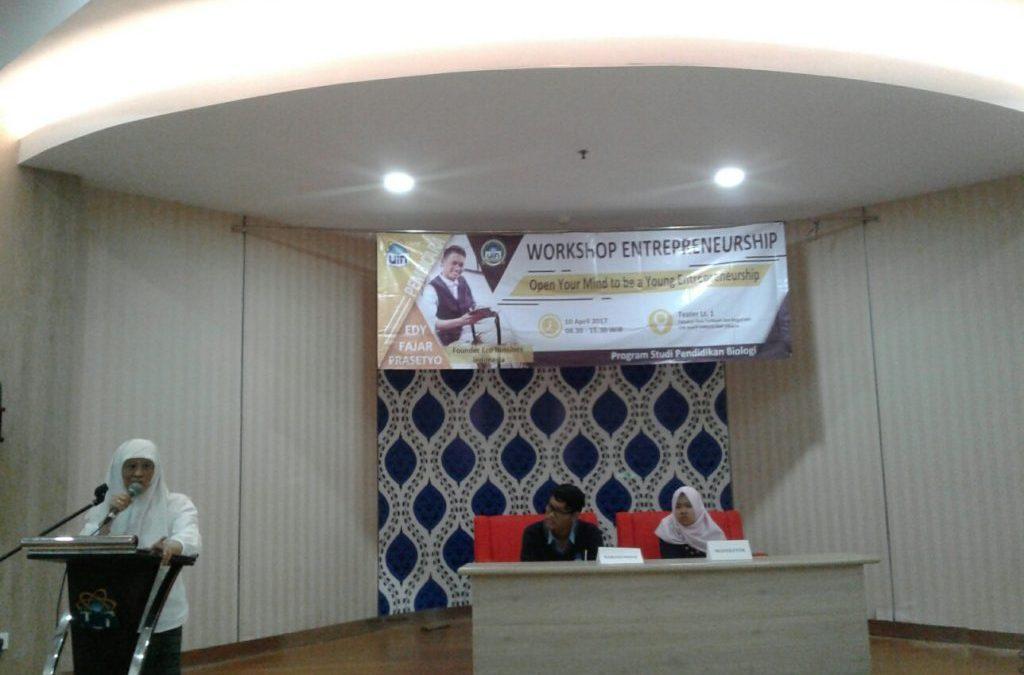 HMPS Biologi Gelar Workshop Entrepreneurship