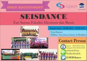LSO Seisdance FEB Akan Gelar Festival Tari Saman Nasional