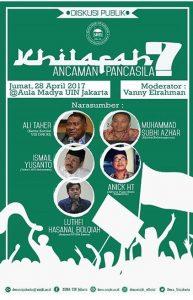 Dema UIN Jakarta Diskusikan Gagasan Khilafah