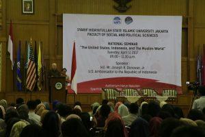 Dubes AS Sampaikan Kuliah Umum di UIN Jakarta