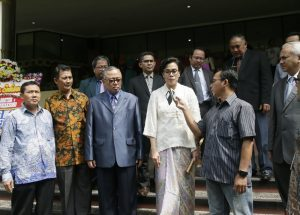 Minister of Finance of Indonesia Daughter in Law Took Doctor's Oath in FKIK UIN Jakarta
