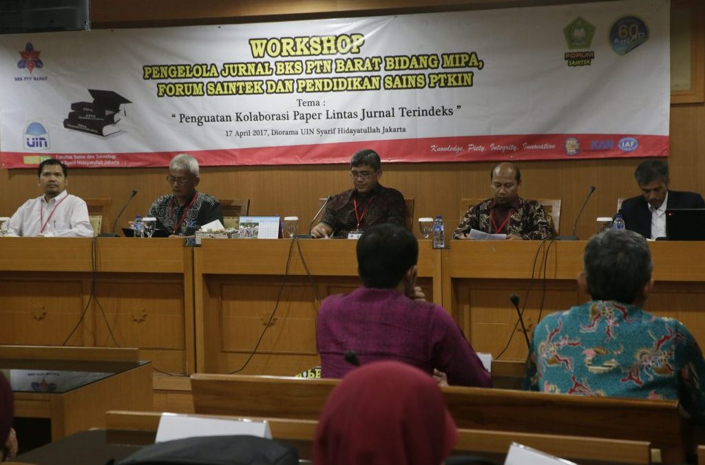 FST PTKIN Gelar Workshop Jurnal Sains