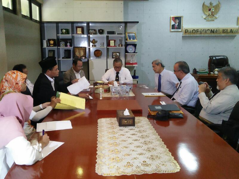 Jamiyah Singapore-UIN Jakarta to Explore Cooperation