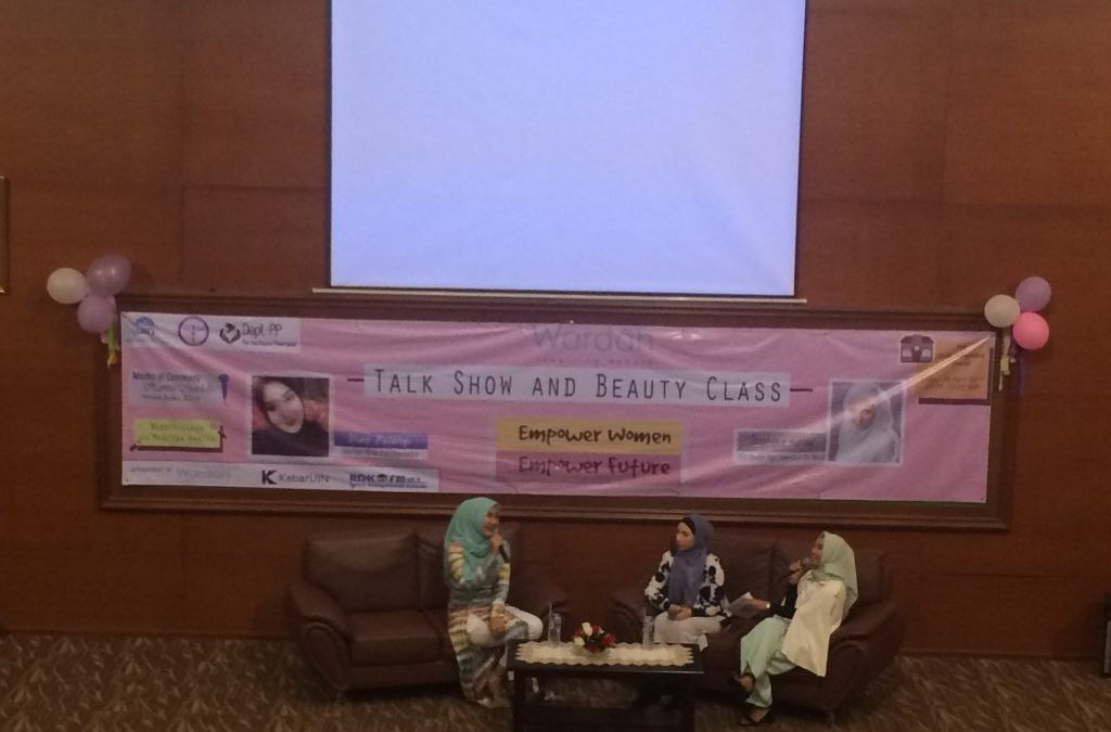 Dema Psikologi UIN Jakarta Gelar Talkshow Keperempuanan