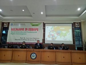 SPs UIN Jakarta Holds National Seminar on Convergence and Religion Diversity