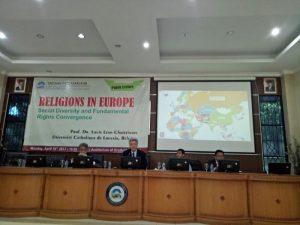SPs Gelar Kuliah Umum Tentang Konvergensi dan Diversitas Agama di Eropa