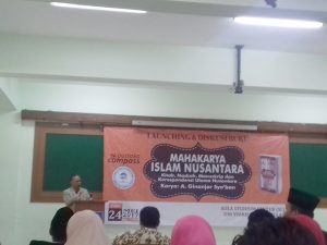 "Dema FU Organized ""Islam Nusantara"" Book Review"