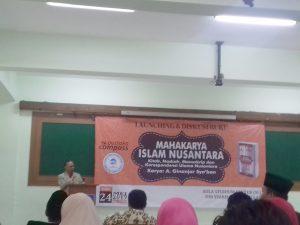 """Dema FU Organized """"Islam Nusantara"""" Book Review"""