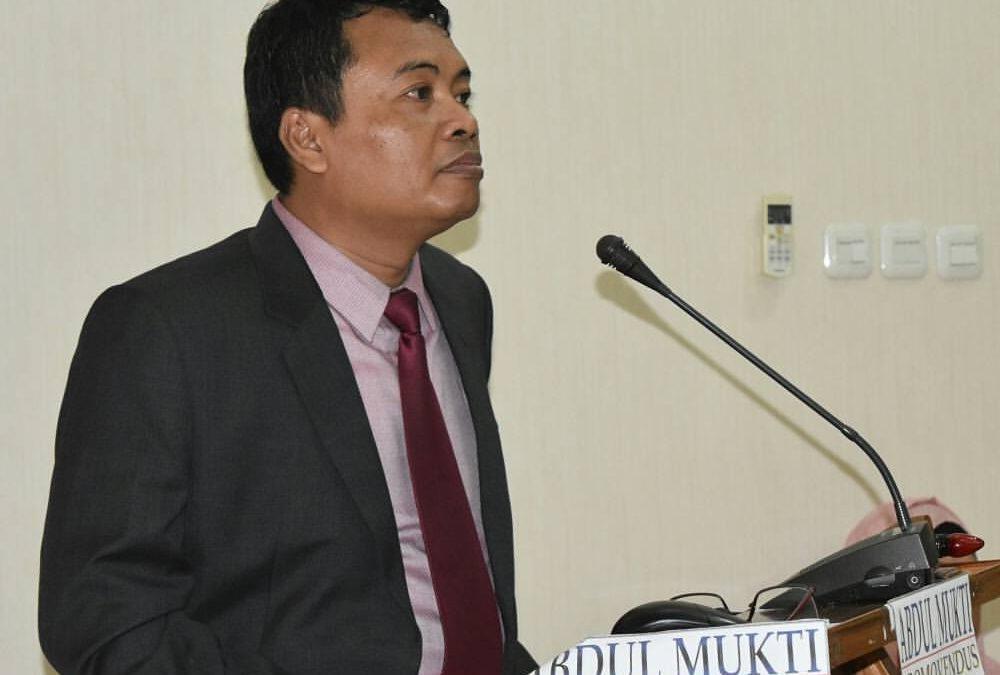 Kaji Pemikiran al-Jabiri, Abdul Mukti Raih Doktor di SPs UIN Jakarta