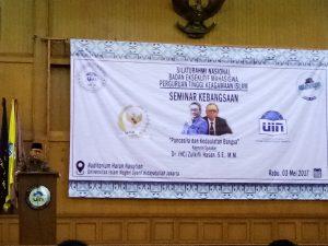 DEMA UIN Jakarta Gelar Seminar Kebangsaan