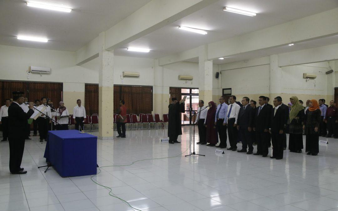 UIN Jakarta Mutasi dan Promosikan Pejabat Baru