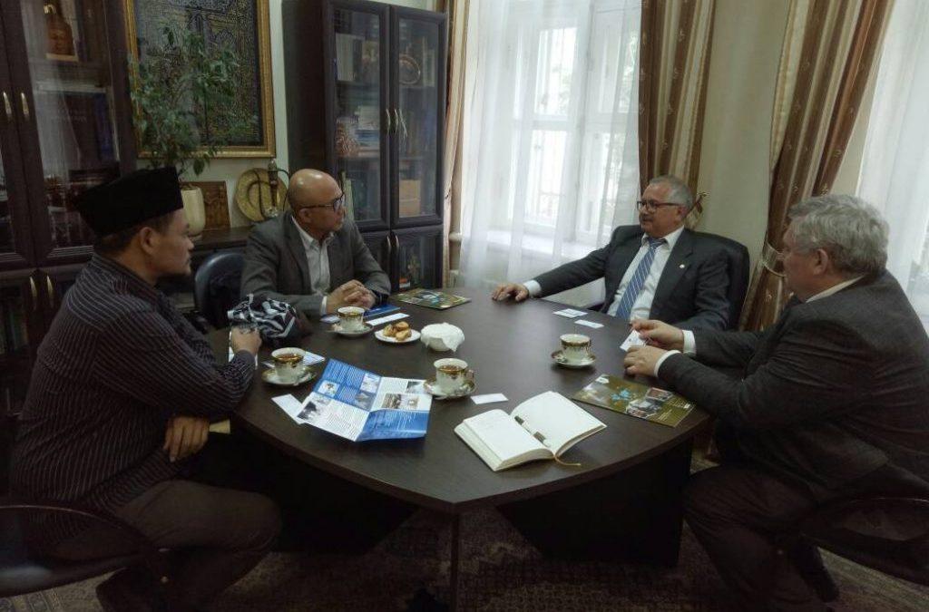 Dongkrak Riset dan Akademik, UIN Jakarta Jajaki Kerjasama Universitas Rusia