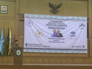 Dema UIN Jakarta-MPR RI Sosialisasikan Empat Pilar Kebangsaan