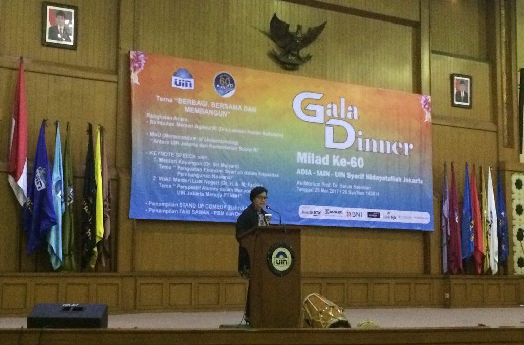 Menkeu Apresiasi Pencapaian UIN Jakarta