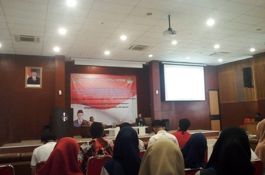 HIMAPOL  UIN Jakarta Gelar Sosialisasi Empat Pilar