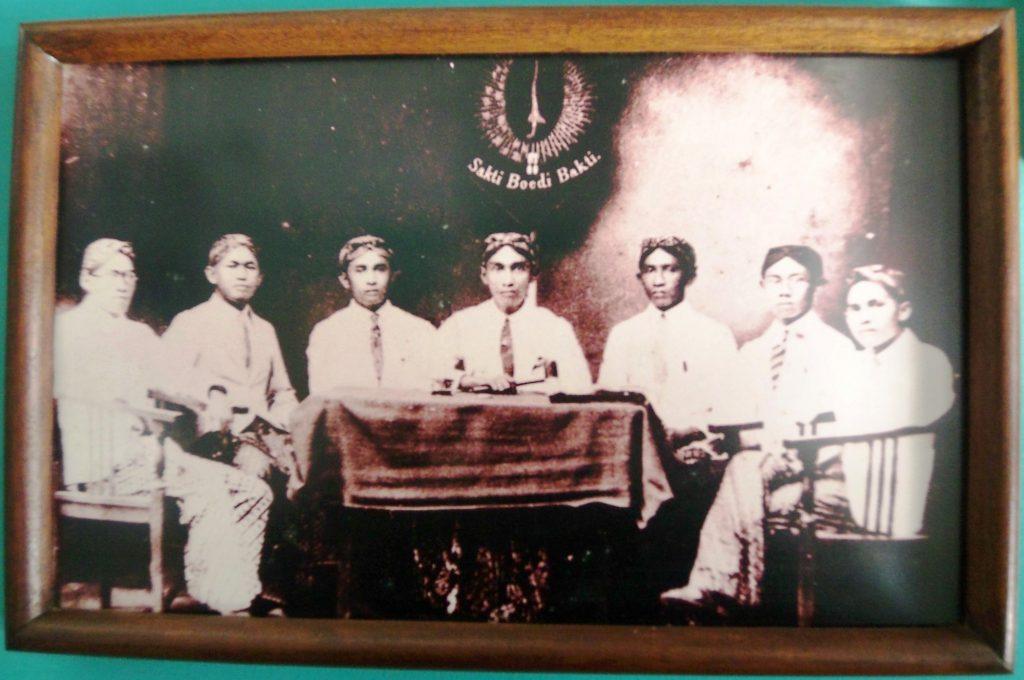 Para pendiri Jong Java. Satiman Wirjosandjojo, pendiri dan ketua umum pertama Jong Java, menggagas pentingnya pendirian perguruan tinggi Islam modern. (Foto: Museum Sumpah Pemuda)