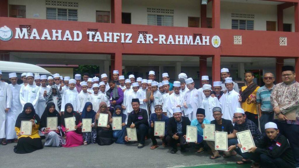 Mahasiswa UIN Mengajar Bahasa Arab di Malaysia