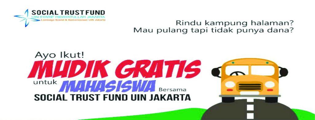 STF UIN Jakarta Holds Free Mudik Lebaran Program